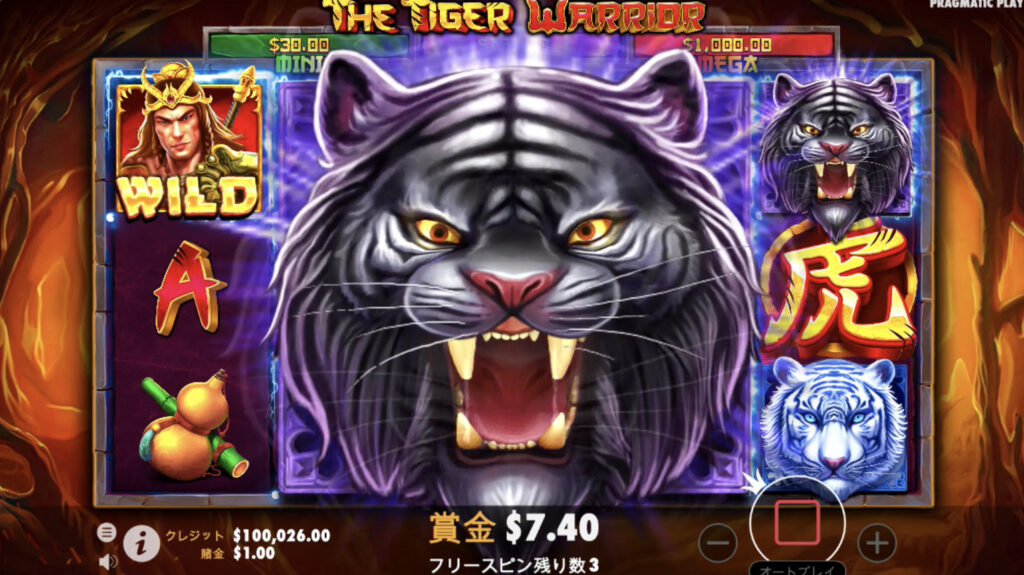 Tiger Warrior(タイガー・ウォリャ)