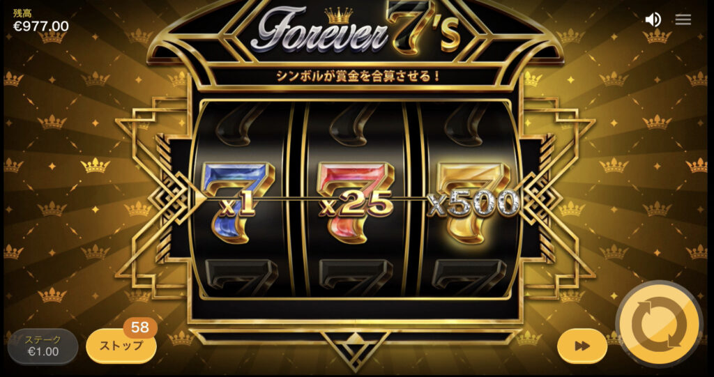 Forever 7's(フォーエバーセブンズ)