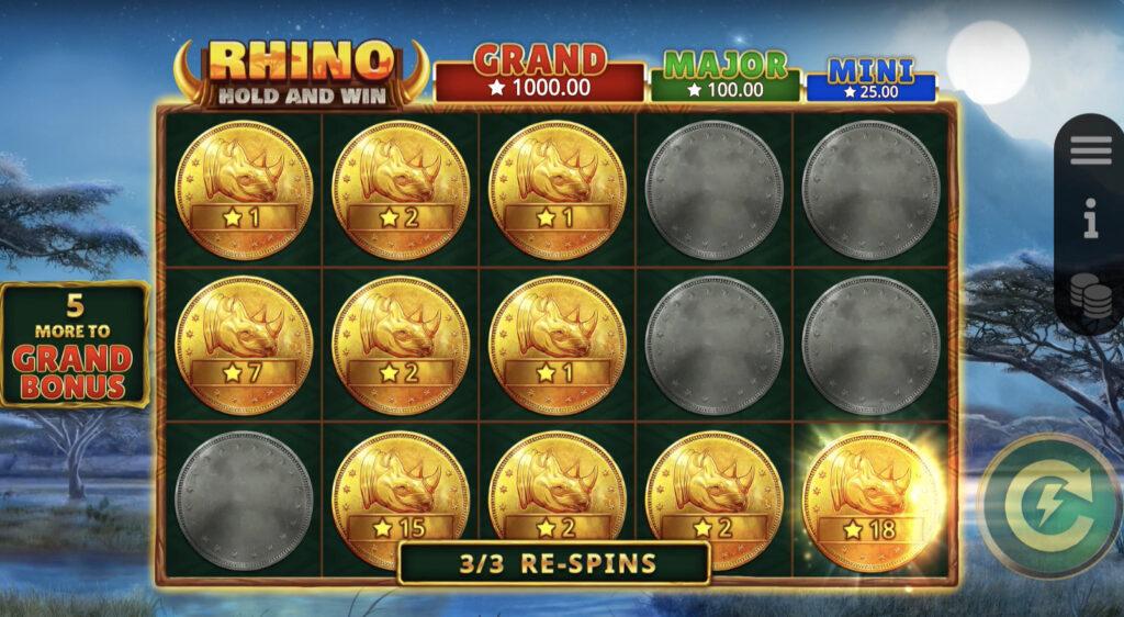 Rhino Hold and Win(リノホールドアンドウィン)